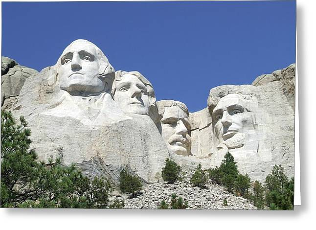 Borglum Greeting Cards - Mount Rushmore National Memorial Greeting Card by National Parks Service