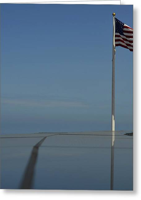 Ocean Vista Greeting Cards - Mount Soledad Veterans Memorial Greeting Card by See My  Photos