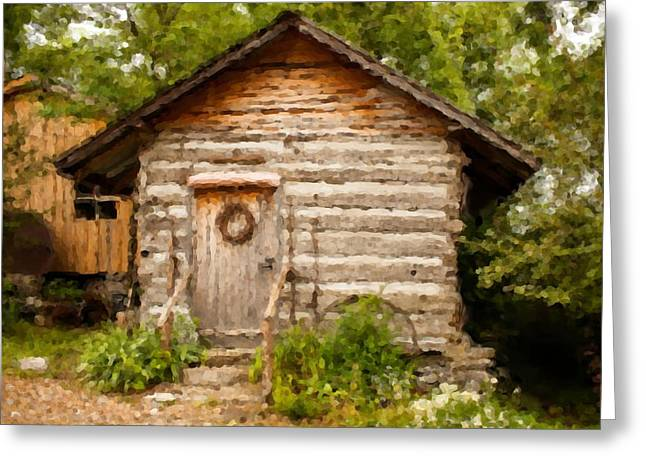 Mountain Cabin Photographs Greeting Cards - Mountain Cabin Greeting Card by Paul Bartoszek