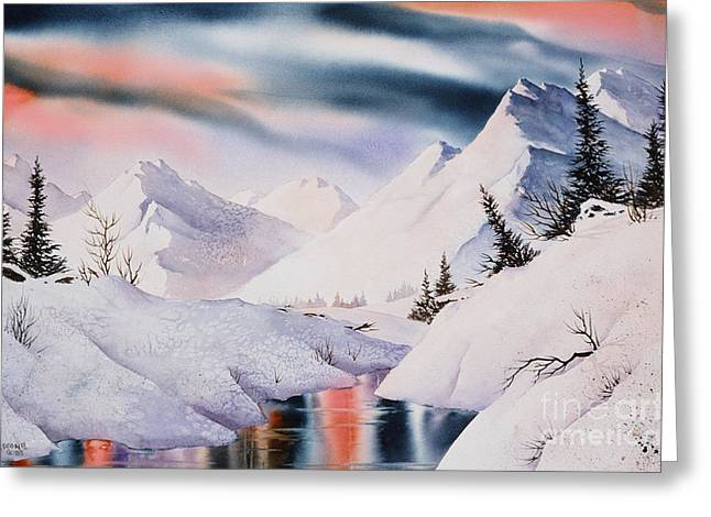 Mountain Majesty Greeting Card by Teresa Ascone
