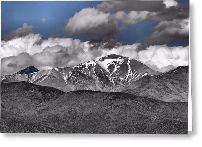 Mountain Climbing Greeting Cards - Mountains Greeting Card by Dan Sproul