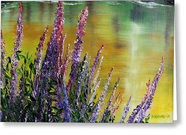 Low Country Cottage Greeting Cards - Mr20140123 Greeting Card by MadhuRavi Paintings