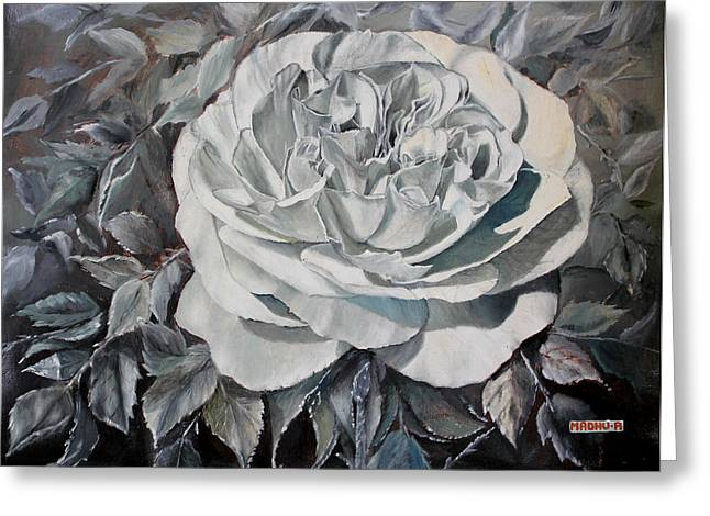 Low Country Cottage Greeting Cards - Mr20140606 Greeting Card by MadhuRavi Paintings