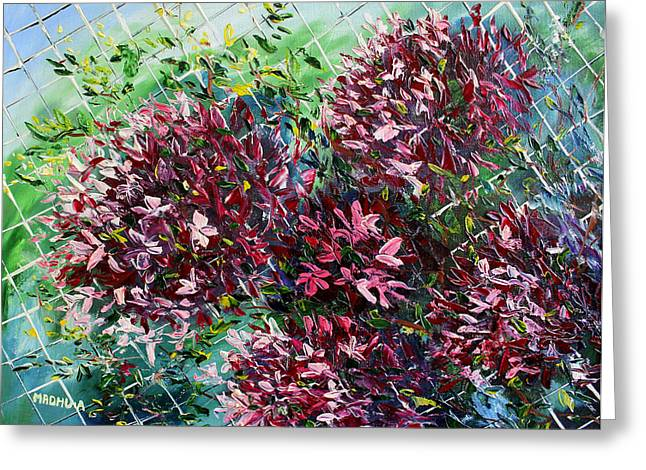 Low Country Cottage Greeting Cards - Mr20140608 Greeting Card by MadhuRavi Paintings