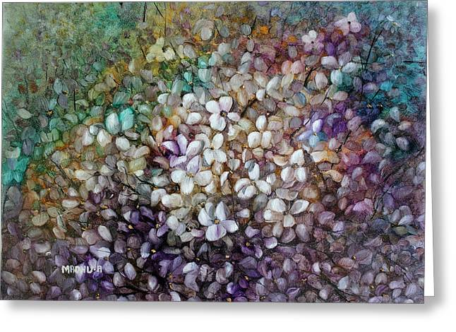 Low Country Cottage Greeting Cards - Mr20140615 Greeting Card by MadhuRavi Paintings