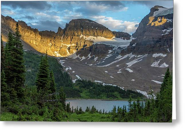 Mt Assiniboine Provincial Park Greeting Card by Howie Garber