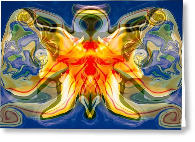 My Angel Greeting Card by Omaste Witkowski