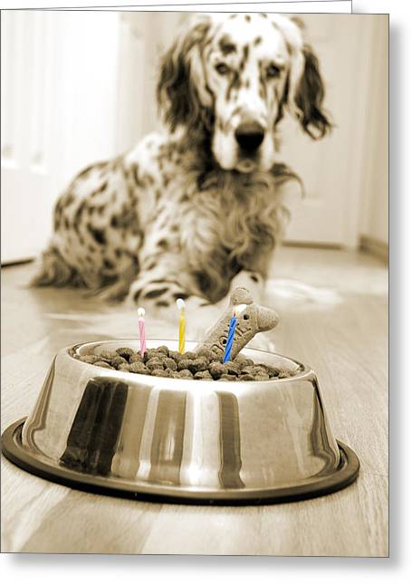 Special Occasion Greeting Cards - My best friends birthday Greeting Card by Alexey Stiop