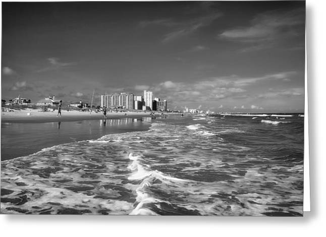 Sunbathing Greeting Cards - Myrtle Beach South Carolina Greeting Card by Mountain Dreams