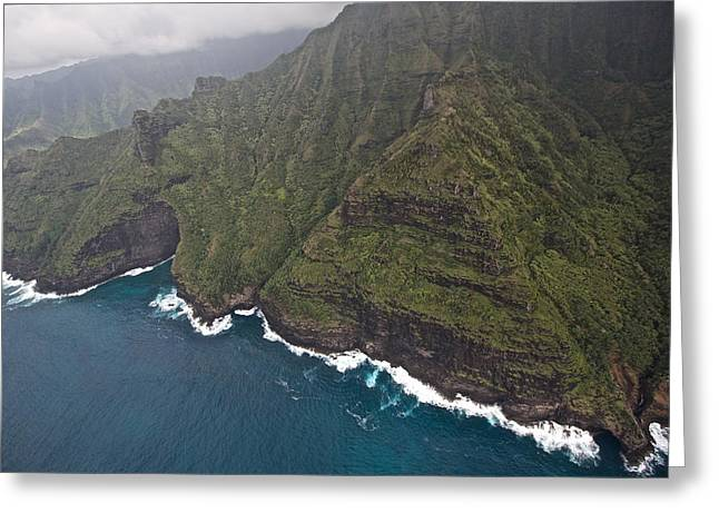 Penn Cove Greeting Cards - Na Pali Kauai Greeting Card by Steven Lapkin