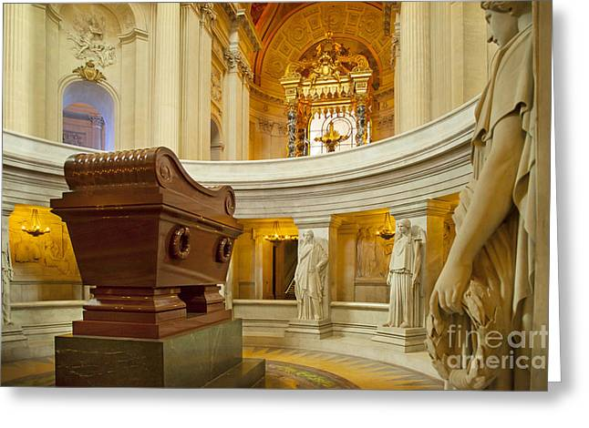 Gravesite Greeting Cards - Napoleon Tomb - Paris Greeting Card by Brian Jannsen