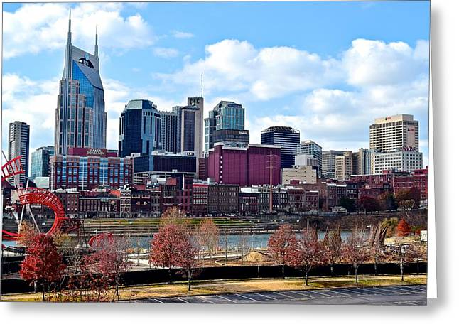 Nashville Greeting Cards - Nashville Tennessee Greeting Card by Frozen in Time Fine Art Photography