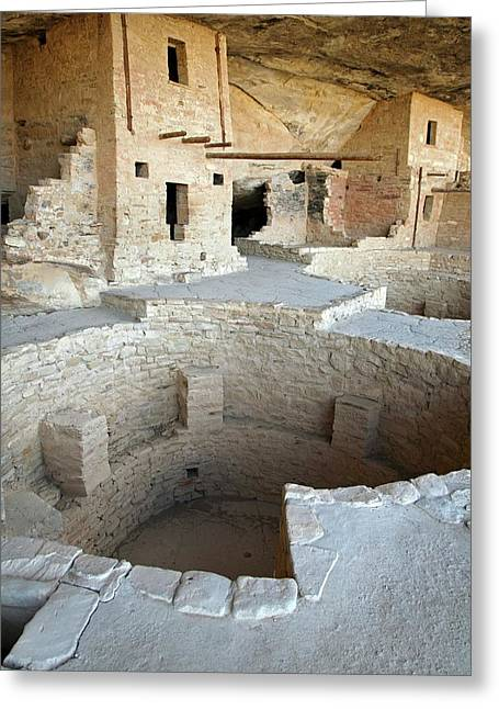 Native American Cliff Dwellings Greeting Card by Jim West