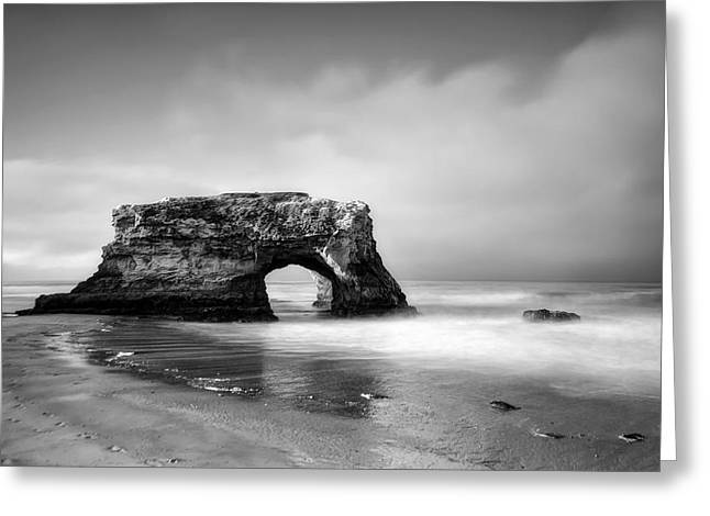 Santa Cruz Ca Greeting Cards - Natural Bridges State Beach Greeting Card by Chris Frost