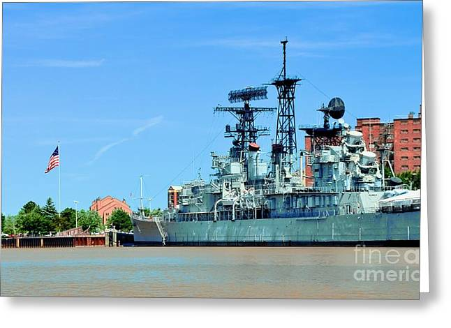 Struckle Greeting Cards - Naval Park And Museum Greeting Card by Kathleen Struckle