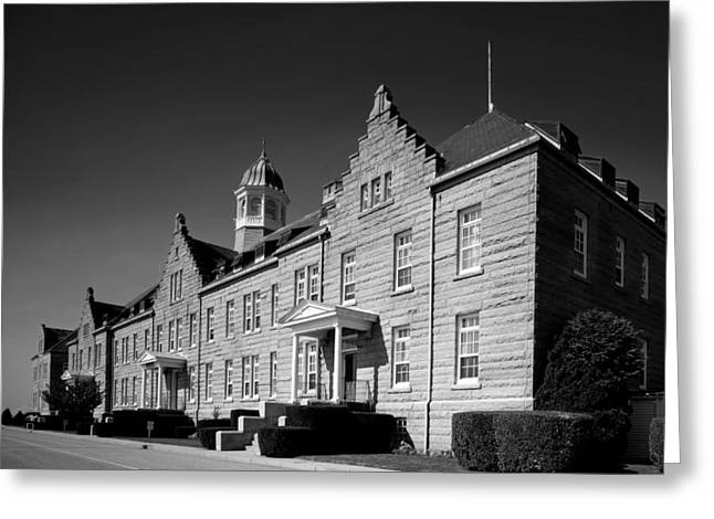 Nature Study Greeting Cards - Naval War College - Newport Rhode Island Greeting Card by Mountain Dreams