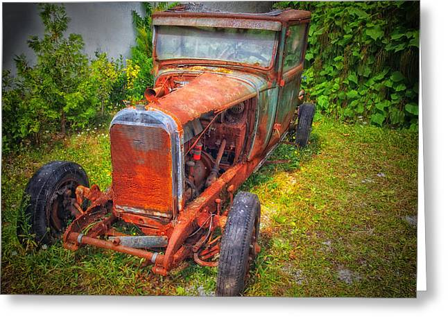 Rusted Cars Greeting Cards - Needing Tender and Loving Care Greeting Card by Mountain Dreams