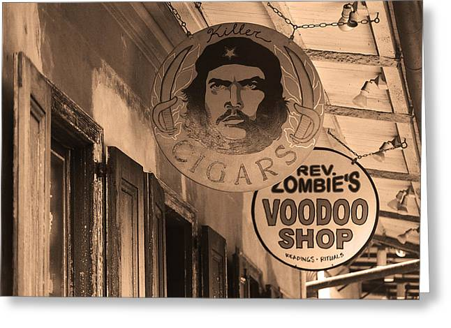Voodoo Shop Greeting Cards - New Orleans Shops 3 Greeting Card by Frank Romeo