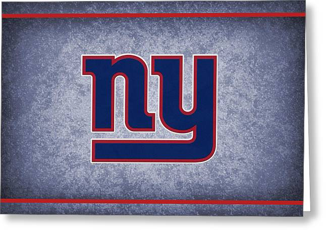 Giant Greeting Cards - New York Giants Greeting Card by Joe Hamilton