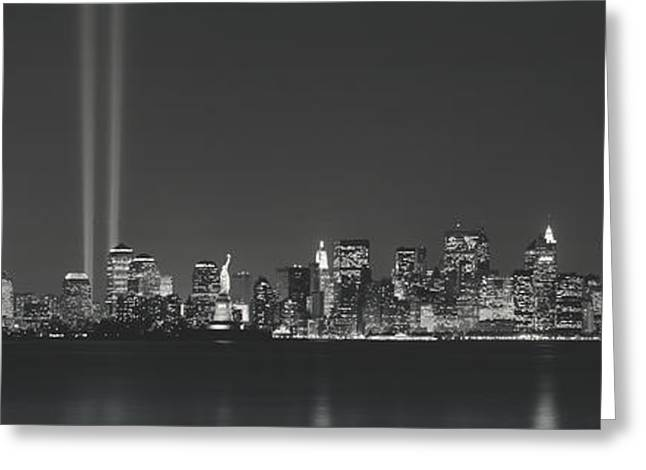 New York Evening Post Greeting Cards - New York Ny Greeting Card by Panoramic Images