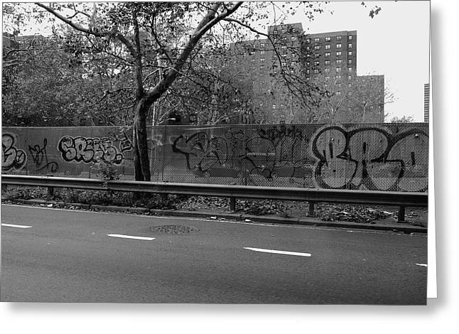 Fdr Drive Greeting Cards - New York Street Photography 45 Greeting Card by Frank Romeo