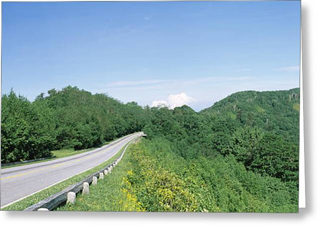 Gap Greeting Cards - Newfound Gap Road, Great Smoky Greeting Card by Panoramic Images