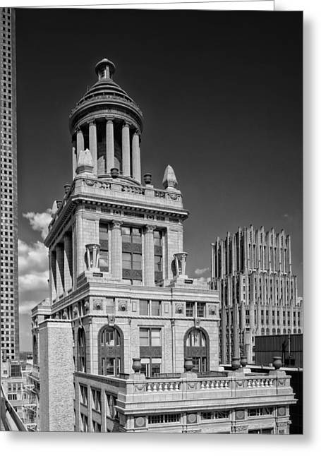 Niel Greeting Cards - Niels Esperson Building - Houston Greeting Card by Mountain Dreams