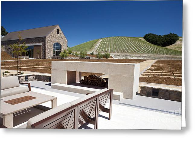 Wine Tour Greeting Cards - Niner Wine Estates Winery Paso Robles Greeting Card by Jason O Watson