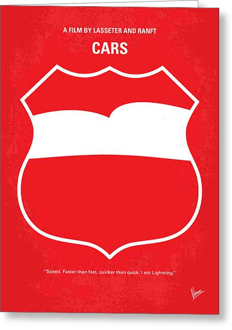 California Art Greeting Cards - No373 My Incredibles minimal movie poster Greeting Card by Chungkong Art