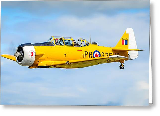 Usn Greeting Cards - North American Texan SNJ-5  Greeting Card by Puget  Exposure