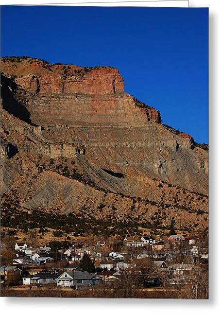Mining Photos Greeting Cards - North Helper Greeting Card by James Boyd