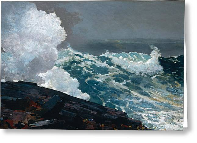 Northeaster  Greeting Card by Celestial Images