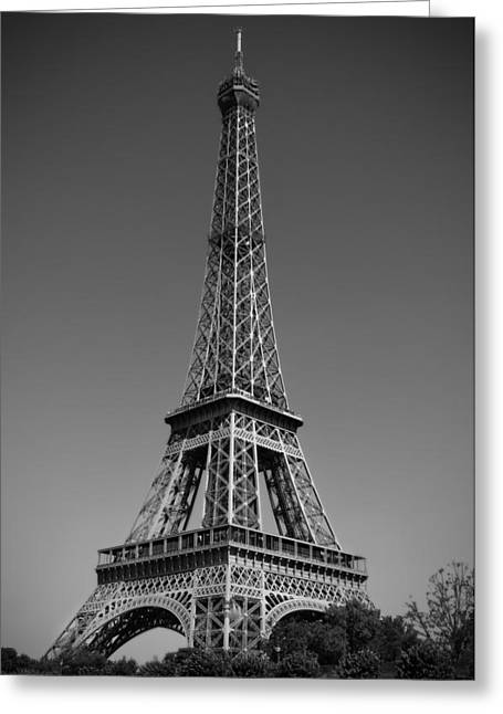 Freelance Photographer Photographs Greeting Cards - Not a Cloud In Paris Greeting Card by Kamil Swiatek