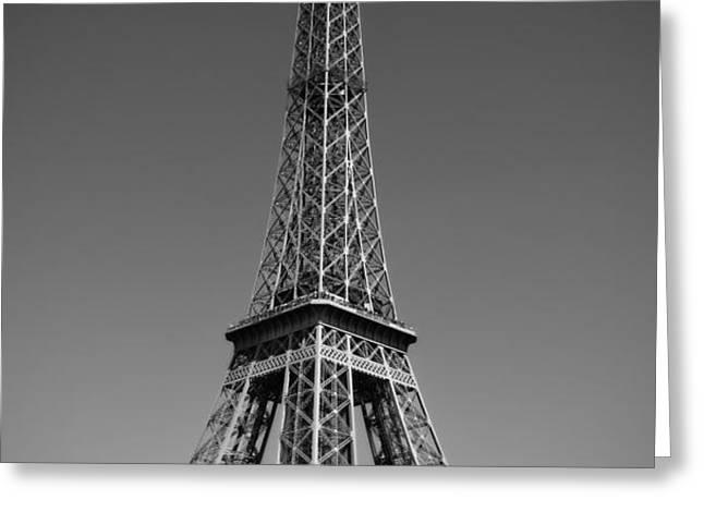 Not a Cloud In Paris Greeting Card by Kamil Swiatek