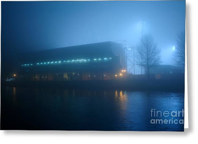 Kick Off Greeting Cards - Nottingham Forest Football Ground. Greeting Card by Ian  Francis