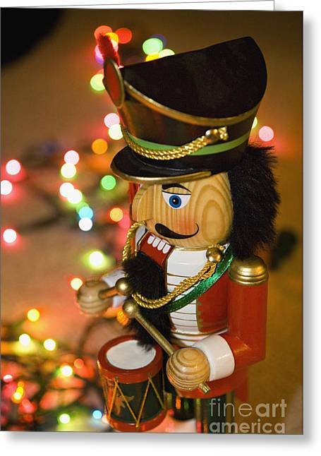 Mustache Greeting Cards - Nutcracker - D008332 Greeting Card by Daniel Dempster