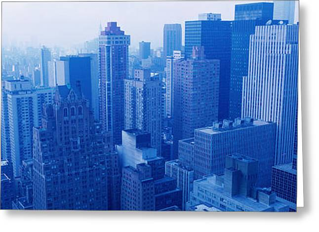 20th Greeting Cards - Nyc, New York City, New York State, Usa Greeting Card by Panoramic Images