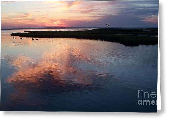 Ocean City Md  Greeting Card by Eric  Schiabor