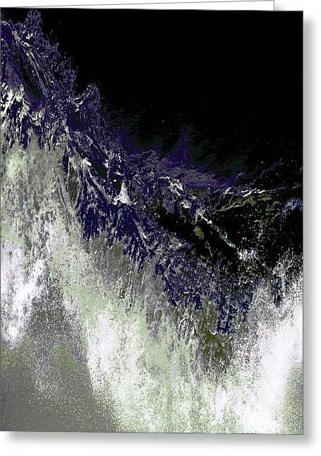 Ocean Series 35 Greeting Card by Franco Timitilli