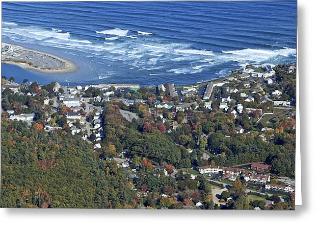 Ogunquit, Maine Greeting Card by Dave Cleaveland