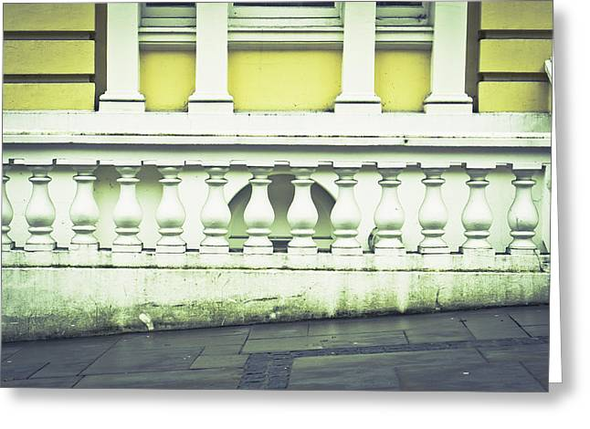 Stepping Stones Greeting Cards - Old architecture Greeting Card by Tom Gowanlock