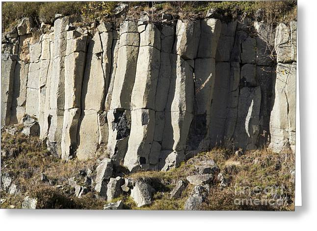 Ore Greeting Cards - old basalt quarry in The Ore Mountains Greeting Card by Michal Boubin