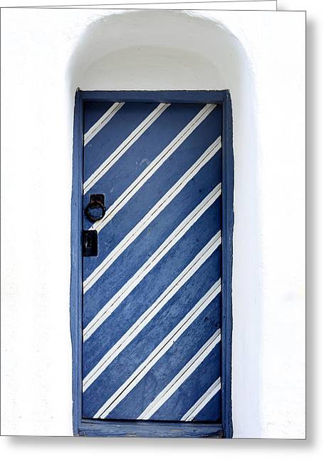Portal Greeting Cards - Old Church Door Greeting Card by Toppart Sweden