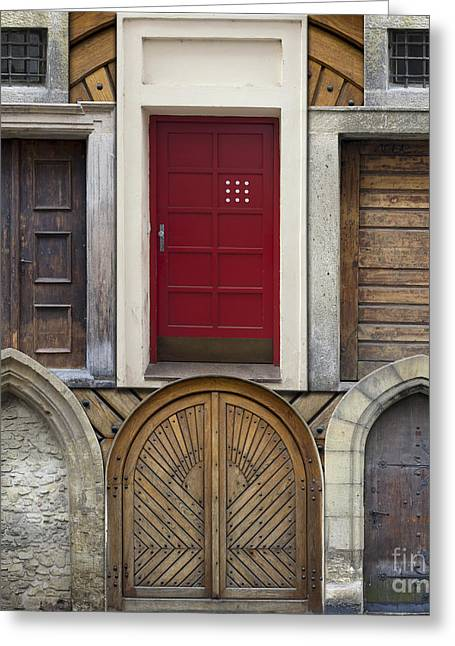 Incision Greeting Cards - Old Doors Greeting Card by Michal Boubin