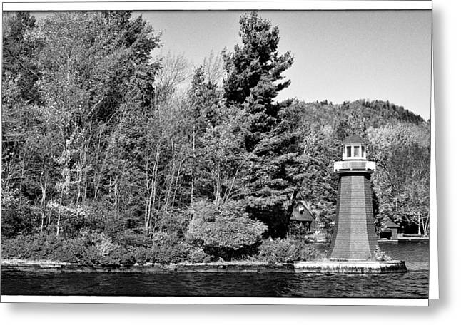 Old And New Greeting Cards - Old Forge Lighhouse Greeting Card by David Patterson