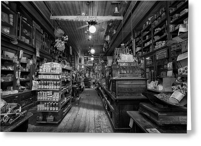 Huntsville Greeting Cards - Old Hardware Store Greeting Card by Mountain Dreams