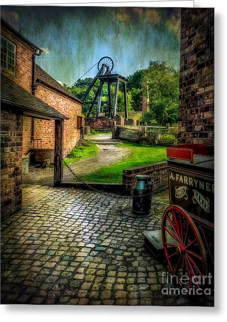 Disused Greeting Cards - Old Mine Greeting Card by Adrian Evans