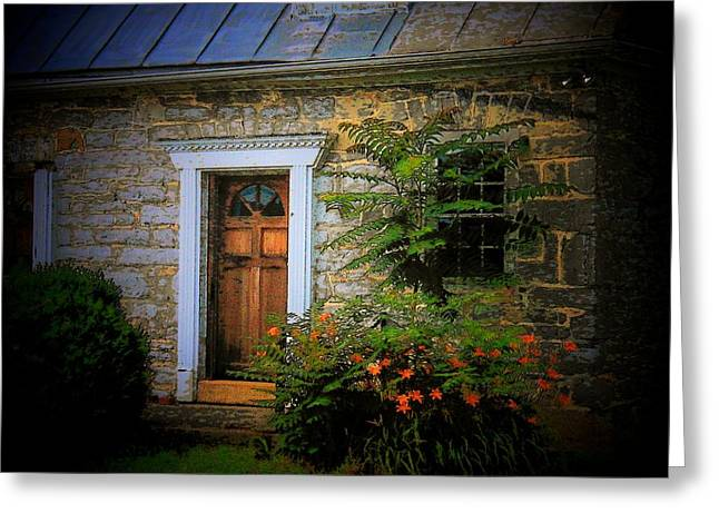 Stone House Photographs Greeting Cards - Old Stone House Greeting Card by Joyce Kimble Smith