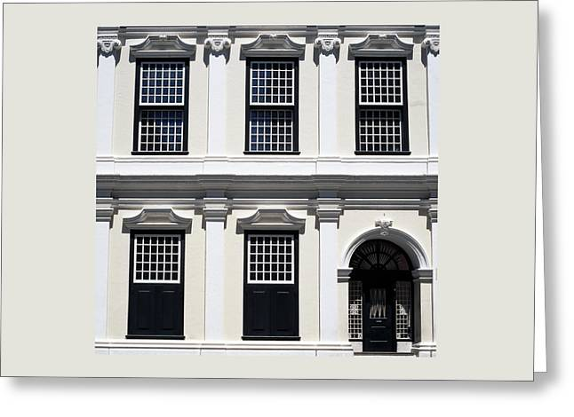 Town Square Greeting Cards - Old Town House Greeting Card by Shaun Higson