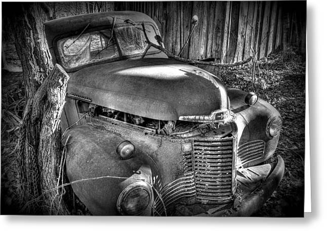 Old Trucks Greeting Cards - Old Truck Greeting Card by Todd Hostetter